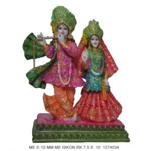 Buy Radha Krishna Colour Murti