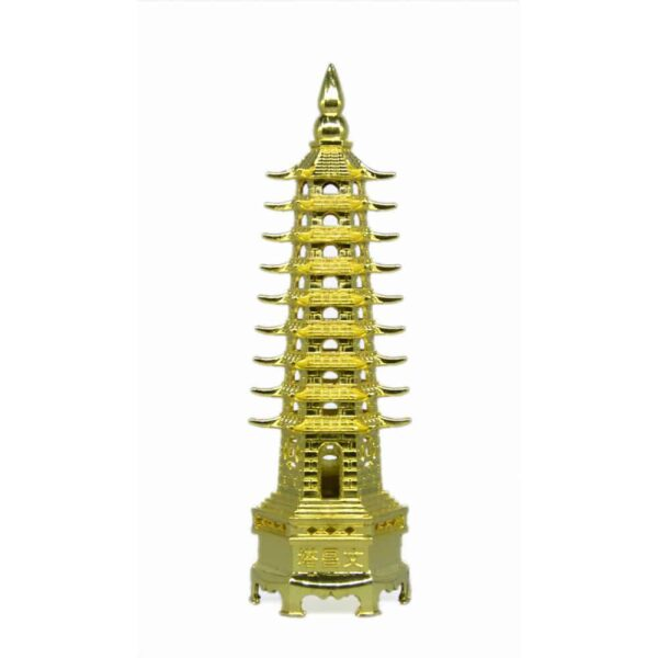 Golden Color Feng-Shui education tower- for students