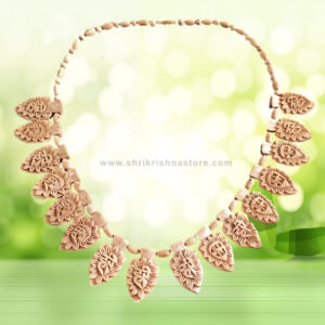 Hare Krishna Hare Rama Tulsi Necklace