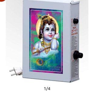 Sri Krishna Culture Metal 25 in 1 Krishna Akhand Shloka
