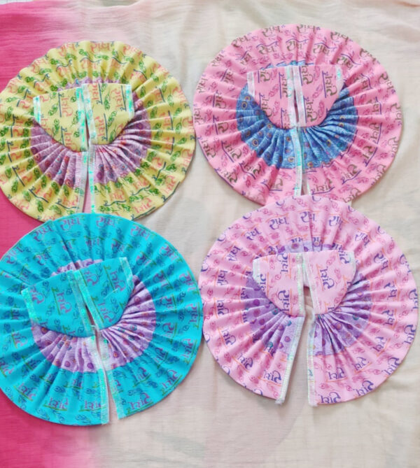 5 No Laddu Gopal Cotton Dresses