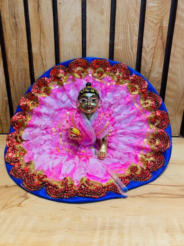 Beautiful 6 No Bal Laddu Gopal Dress