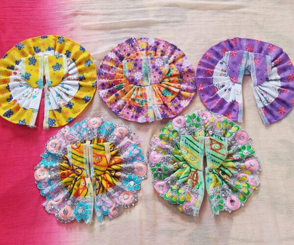 2-3 No Laddu Gopal Cotton Dresses-Pack of 5