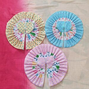 4 No Laddu Gopal Cotton Dresses-Pack of 4